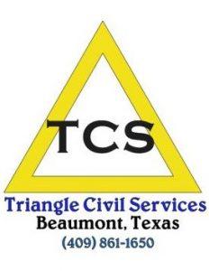 TCS Triangle Civil Logo